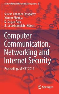 Computer Communication, Networking and Internet Security - Suresh Chandra Satapathy