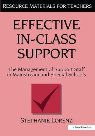 Effective In-Class Support - Stephanie Lorenz