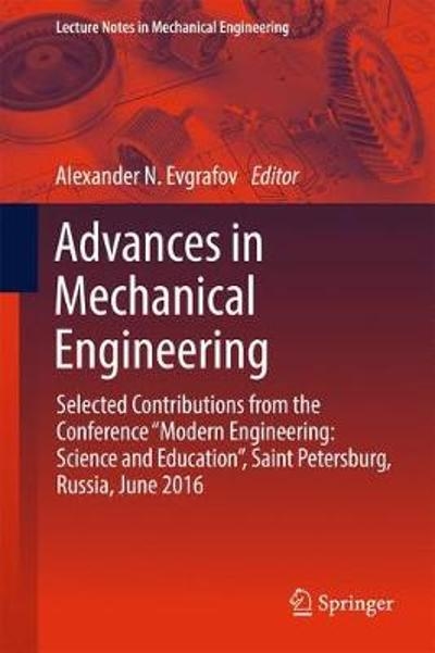 Advances in Mechanical Engineering - Alexander Evgrafov