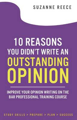 10 Reasons You Didn't Write an Outstanding Opinion - Suzanne Reece