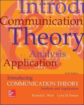 Introducing Communication Theory: Analysis and Application - Richard L. West