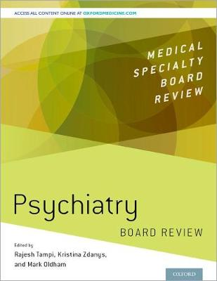 Psychiatry Board Review - Rajesh R. Tampi