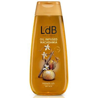 LdB Oil Infused Macadamia Shower Gel - Dry Skin - LdB