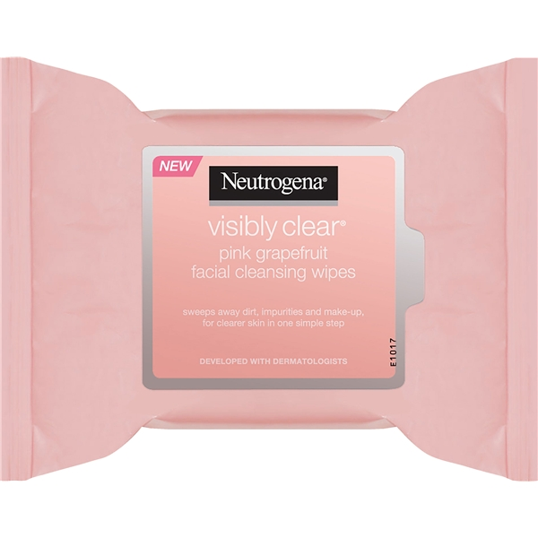 Pink Grapefruit Facial Cleansing Wipes - Neutrogena