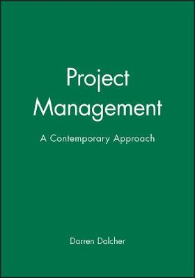 Project Management - Professor Darren Dalcher