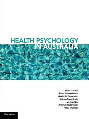 Health Psychology in Australia - Jill Dorrian