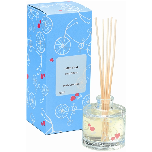 Reed Diffuser Cotton Fresh - Bomb Cosmetics