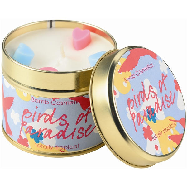 Tin Candle Birds of Paradise - Bomb Cosmetics