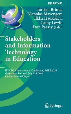 Stakeholders and Information Technology in Education - Don Passey