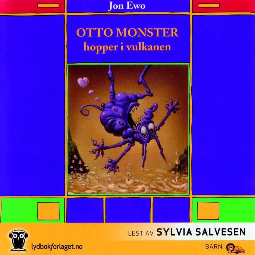 Otto Monster hopper i vulkanen - Jon Ewo