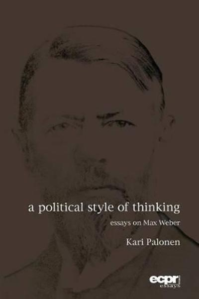 A Political Style of Thinking - Kari Palonen
