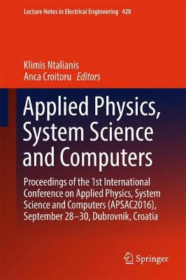 Applied Physics, System Science and Computers - Klimis Ntalianis