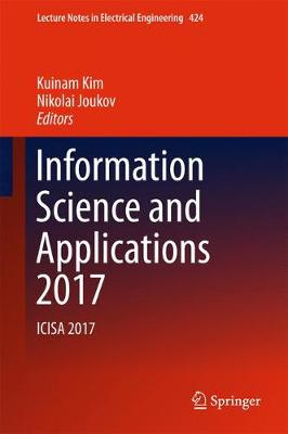Information Science and Applications 2017 - Nikolai Joukov