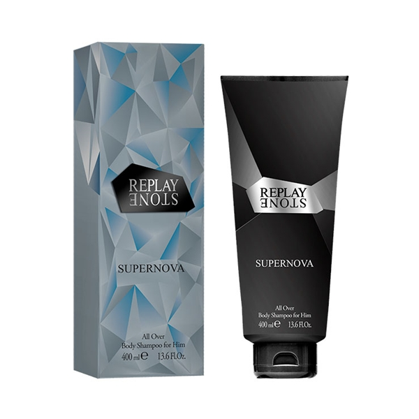 Replay Stone Supernova for Him - Body Shampoo - Replay