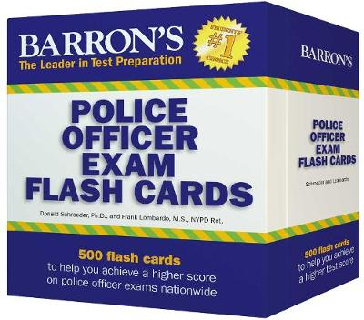Barron's Police Officer Exam Flash Cards - Donald J. Schroeder