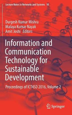 Information and Communication Technology for Sustainable Development - Durgesh Kumar Mishra