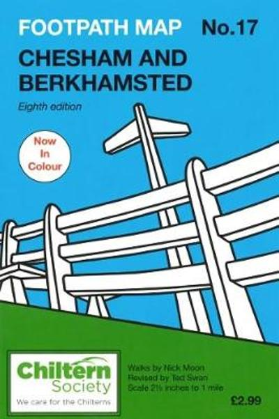 Footpath Map No. 17 Chesham and Berkhamsted - Nick Moon