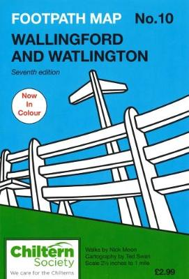 Footpath Map No. 10 Wallingford and Watlington - Nick Moon