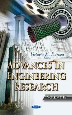 Advances in Engineering Research - Victoria M. Petrova