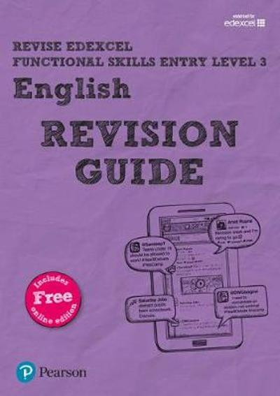 Revise Edexcel Functional Skills English Entry Level 3 Revision Guide - David Grant