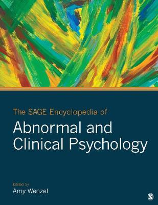 The SAGE Encyclopedia of Abnormal and Clinical Psychology - Amy E. Wenzel