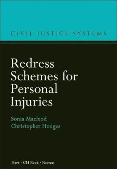 Redress Schemes for Personal Injuries - Sonia Macleod
