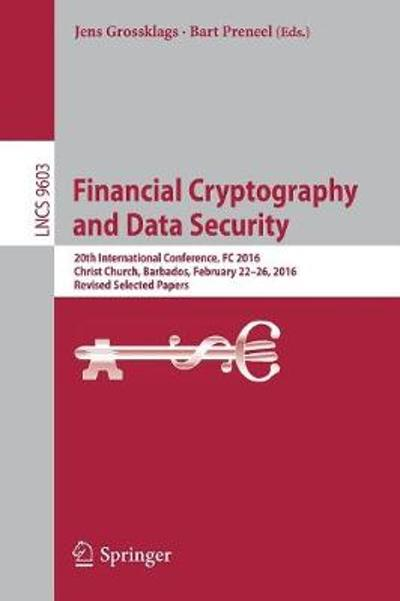 Financial Cryptography and Data Security - Jens Grossklags