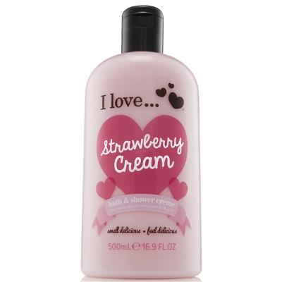 Strawberry Cream Evolution Bath & Shower Crème - I Love...