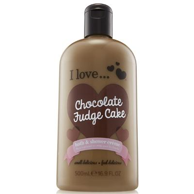 Chocolate Fudge Cake Bath & Shower Crème - I Love...