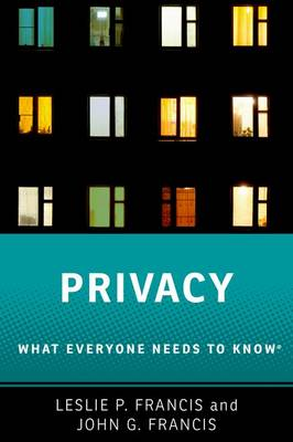 Privacy - Leslie P. Francis