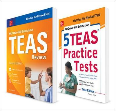 McGraw-Hill Education TEAS 2-Book Value Pack, Second Edition - Kathy A. Zahler