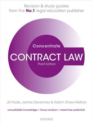 Contract Law Concentrate - Jill Poole