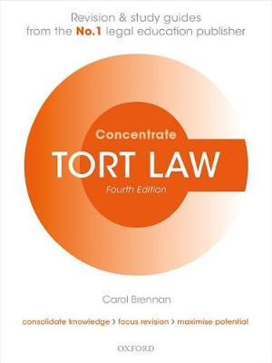 Tort Law Concentrate - Carol Brennan