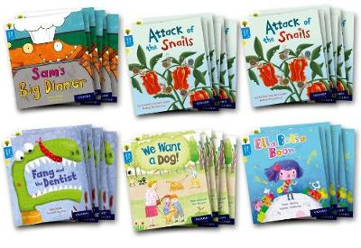 Oxford Reading Tree Story Sparks: Oxford Level 3: Mixed Pack of 6 - Teresa Heapy