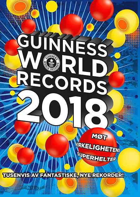 Guinness world records 2018 - Craig Glenday