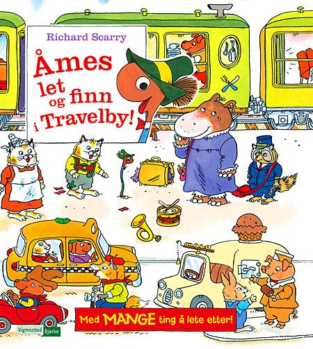 Åmes let og finn i Travelby! - Richard Scarry