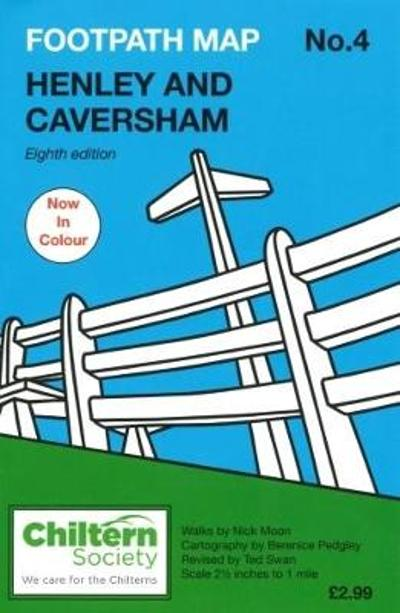 Footpath Map No. 4 Henley and Caversham - Nick Moon