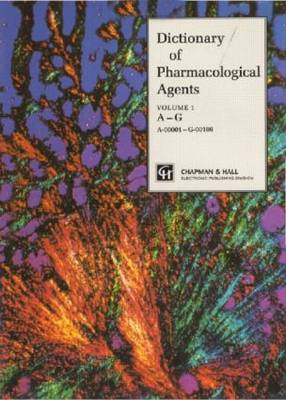 Dictionary of Pharmacological Agents - C. R. Ganellin