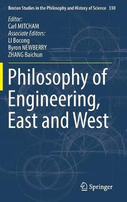 Philosophy of Engineering, East and West - Bocong Li