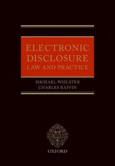 Electronic Disclosure - Michael Wheater