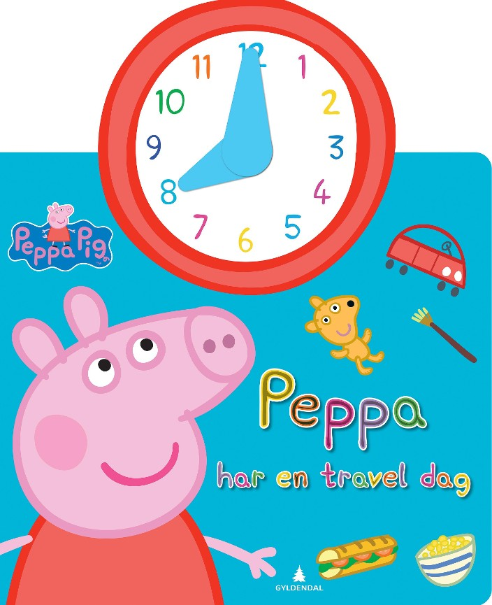 Peppa har en travel dag - Jan Chr. Næss