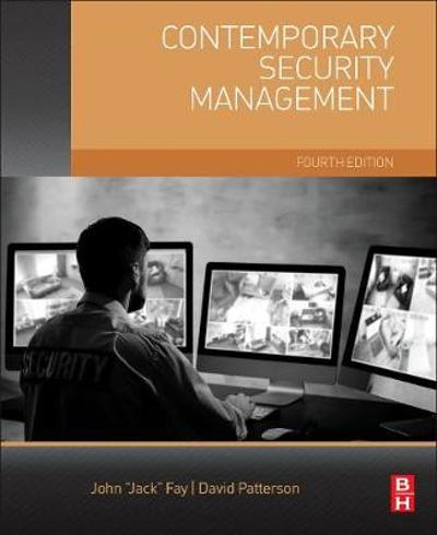 Contemporary Security Management - David A. Patterson
