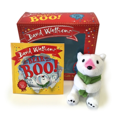 The Bear Who Went Boo! Book and Toy Gift Set - David Walliams