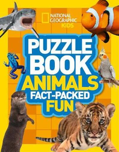 Puzzle Book Animals - National Geographic Kids