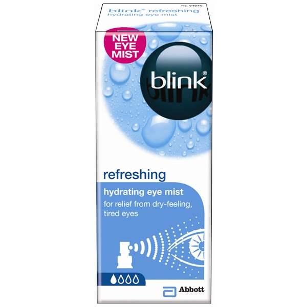 Blink Refreshing Eye Mist 10 ml - Abbott