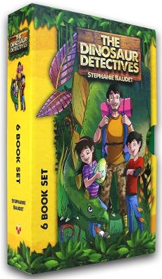 The Dinosaur Detectives Six-Book Collection - Stephanie Baudet