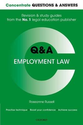 Concentrate Questions and Answers Employment Law - Roseanne Russell