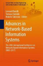 Advances in Network-Based Information Systems - Leonard Barolli Tomoya Enokido Makoto Takizawa