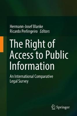 The Right of Access to Public Information - Hermann-Josef Blanke