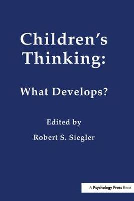 Children's Thinking - Robert Siegler
